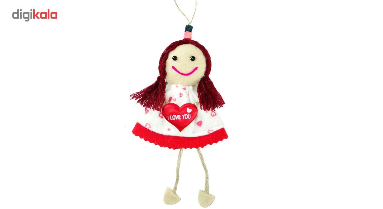 آویز عروسک مدل آلیس کد A1
