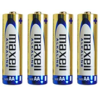 باتری قلمی مکسل مدل Alkaline بسته 4 عددی