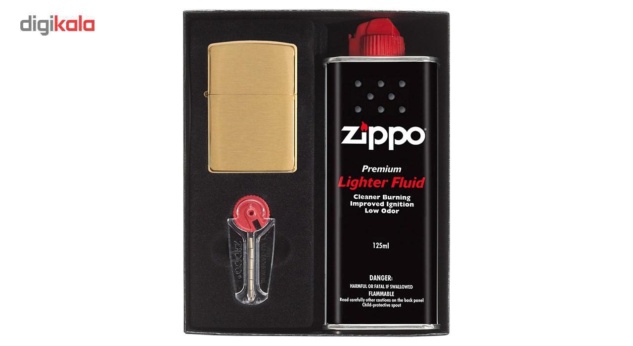 ست هدیه فندک زیپو مدل gold کد 204B