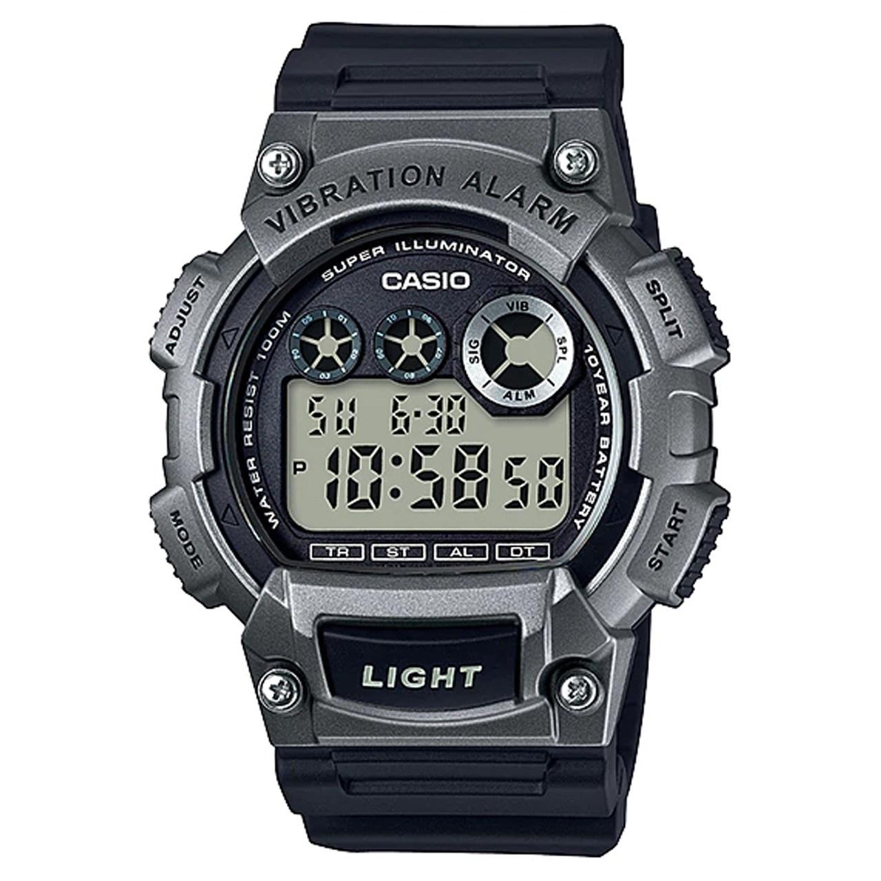 ساعت مچی دیجیتالی مردانه کاسیو مدل  W-735H-1A3VDF