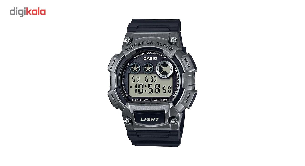 خرید ساعت مچی دیجیتالی مردانه کاسیو مدل  W-735H-1A3VDF | ساعت مچی