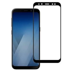 محافظ صفحه نمایش شیشه ای باف مدل 5D مناسب برای گوشی سامسونگ A5 2018
