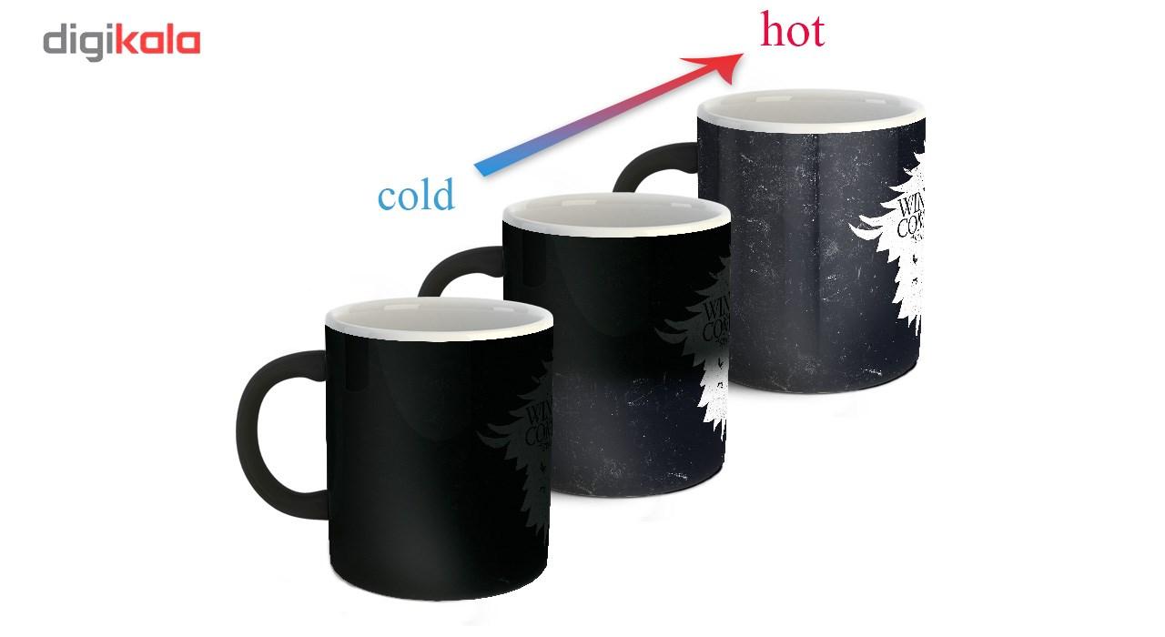 ماگ حرارتی زیزیپ مدل Game of Thrones  843M