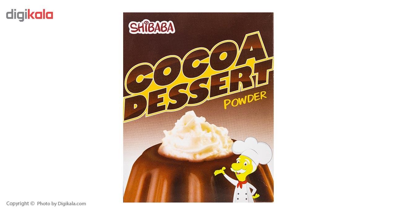 پودر دسر کاکائو شیبابا مقدار 70 گرم