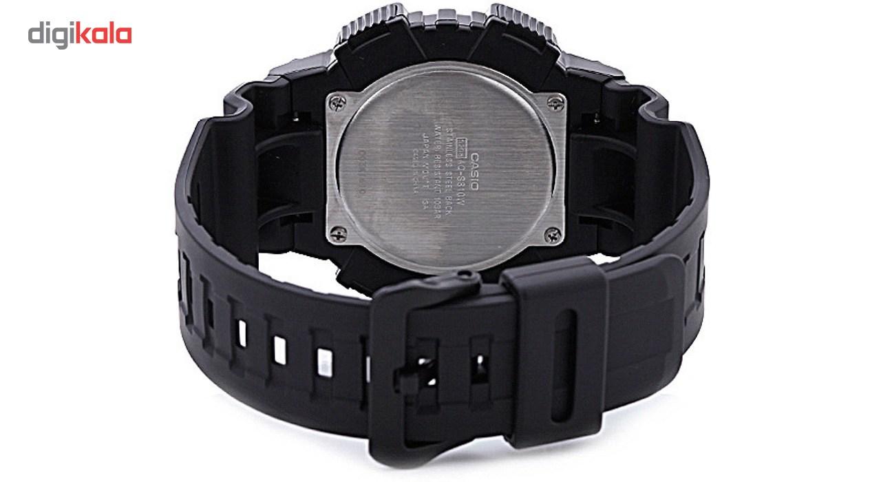 ساعت مچی عقربه ای مردانه کاسیو مدل AQ-S810W-1AVDF