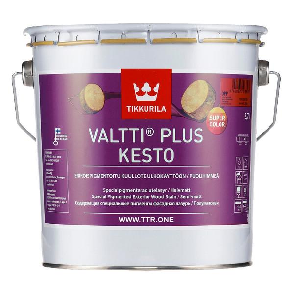 رنگ نیمه شفاف تیکوریلا مدل 5161 Valtti Plus Kesto Super Color حجم 3 لیتر