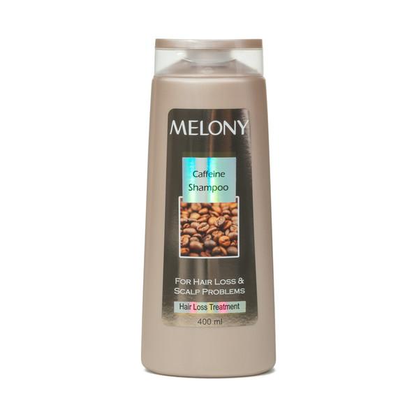 شامپو  ضد ریزش کافئین  ملونی مدل Hair Loss treatment caffeine حجم 400 میلی لیتر