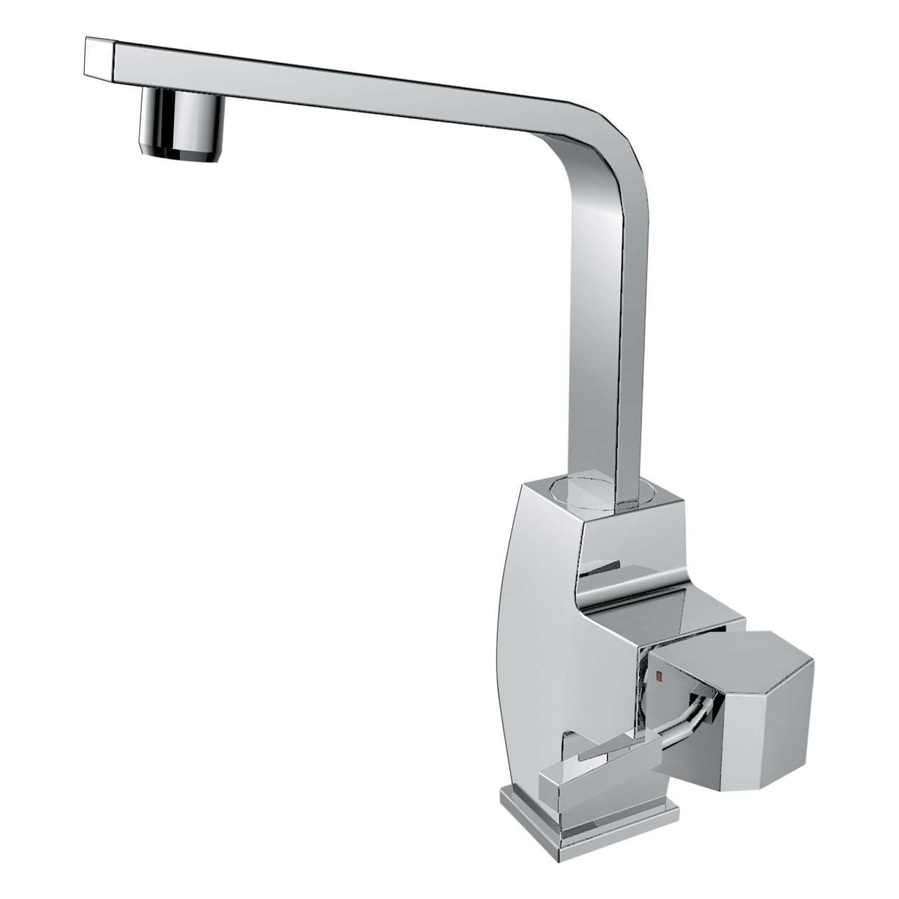 "<span style=""font-family:tahoma;"">شیر آشپزخانه الپس مدل ALIS نقره ای مات ALPS ALIS AP90465-NS Kitchen Faucets</span>"