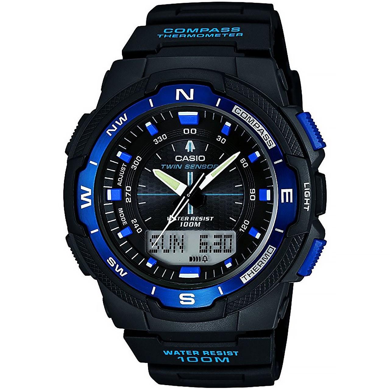 ساعت مچی عقربه ای مردانه کاسیو مدل SGW-500H-2BVDR