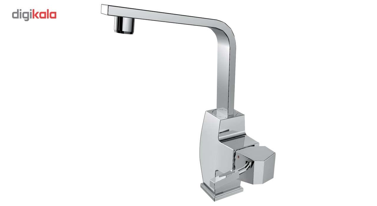 شیر آشپزخانه الپس مدل ALIS نقره ای مات ALPS ALIS AP90465-NS Kitchen Faucets