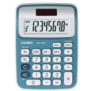 ماشین حساب کاسیو مدل MS-6NC برای سطح مقطع اول دبستان