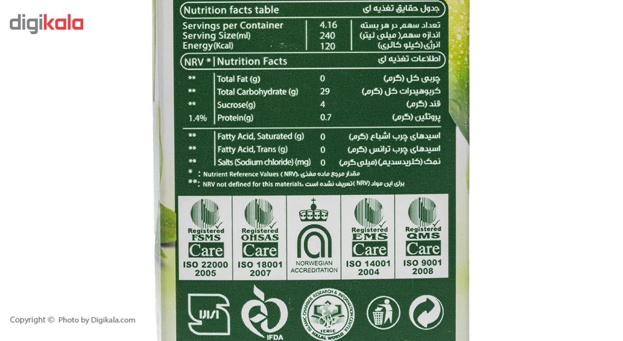 آبمیوه طبیعی سیب ترش سان استار حجم 1 لیتر main 1 1