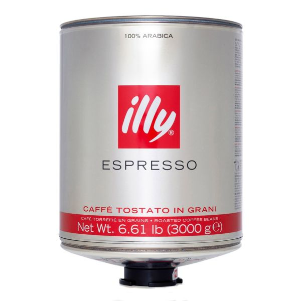 قوطی دانه قهوه ایلی مدل Espresso Medium Roast مقدار 3000 گرم