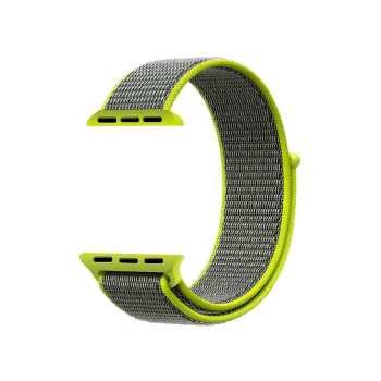 بند نایلونی مدل Sport loop مناسب برای اپل واچ 42 میلی متری