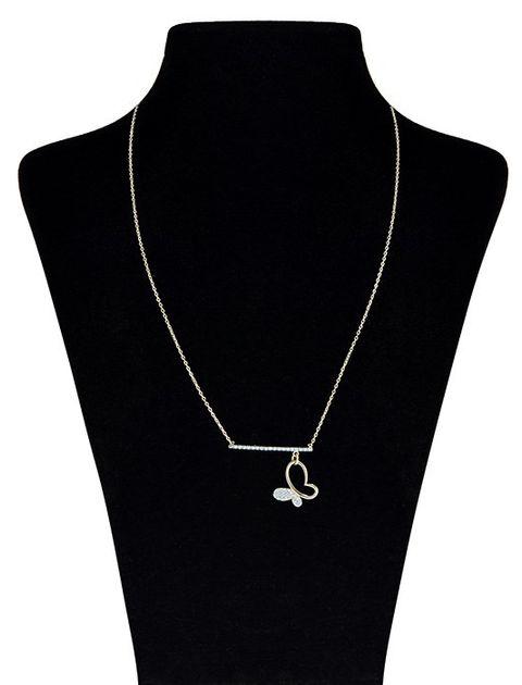گردنبند طلا 18 عیار ماهک مدل MM0670 - مایا ماهک -  - 2