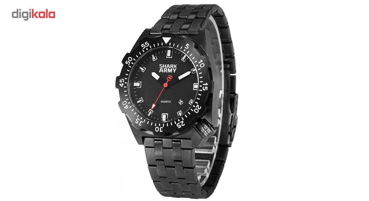 خرید ساعت مچی عقربه ای مردانه شارک آرمی مدل SAW150