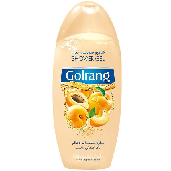 شامپو بدن گلرنگ مدل Apricot مقدار 400 گرم
