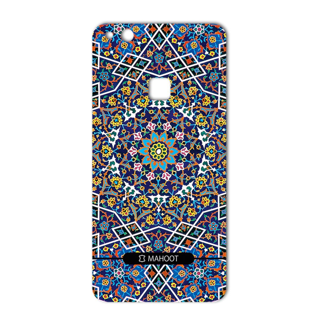 برچسب تزئینی ماهوت مدل Imam Reza shrine-tile Design مناسب برای گوشی  Huawei P10 Plus