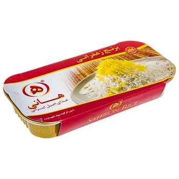 برنج زعفرانی هانی مقدار 330 گرم