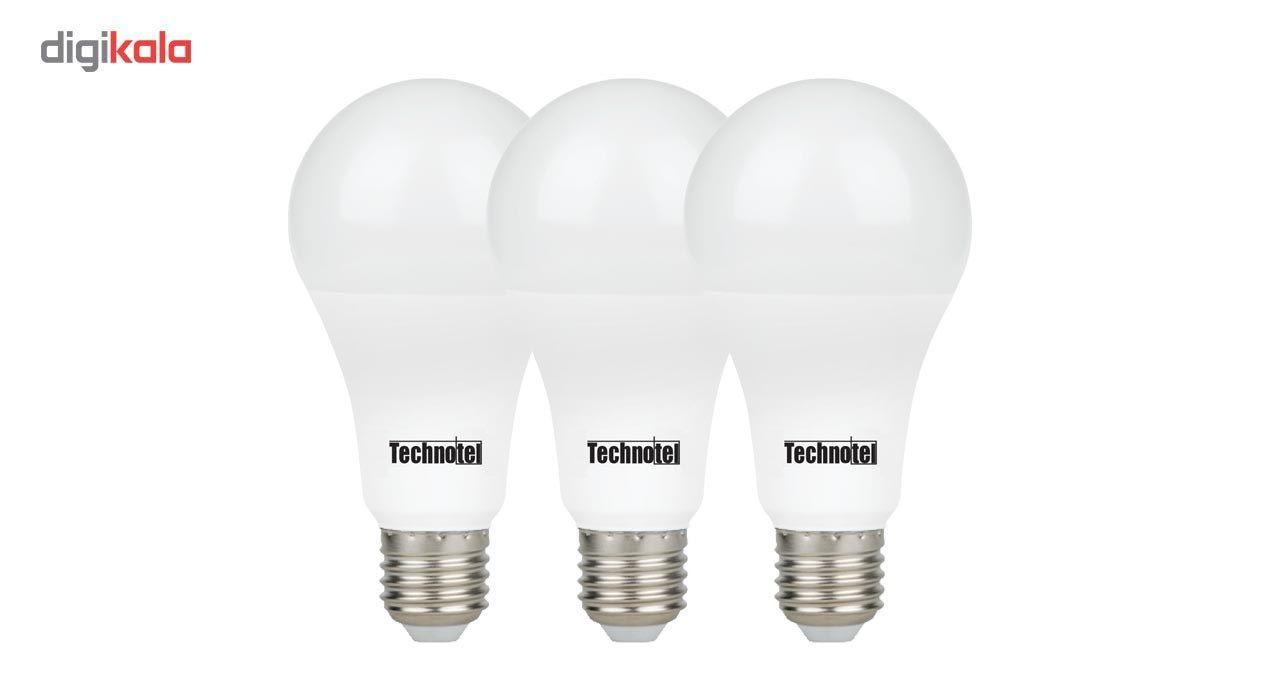 لامپ ال ای دی 15 وات تکنوتل مدل 315 پایه E27 بسته 3 عددی main 1 1
