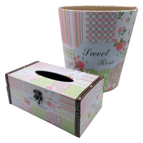 ست سطل و جا دستمال کاغذی کیدتونز کد KDT-123