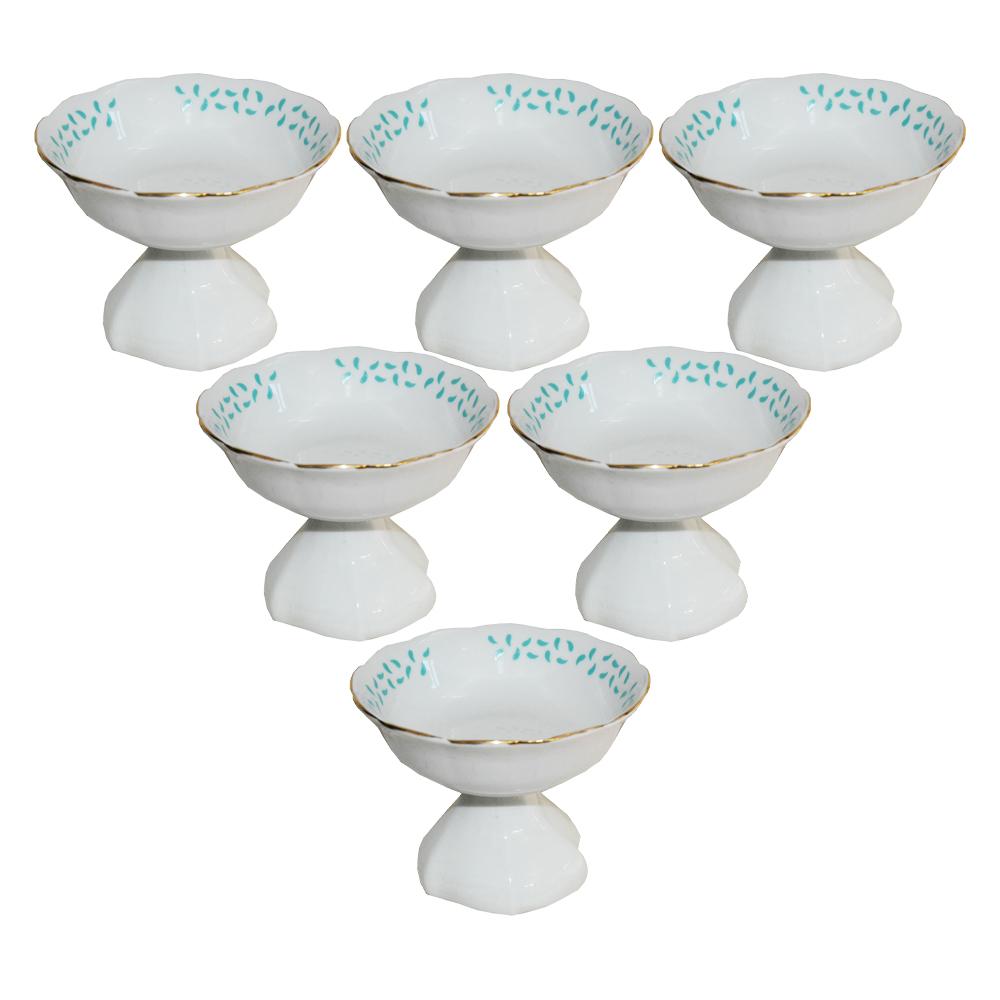 مجموعه ظروف هفت سین 6 پارچه مدل بهارن