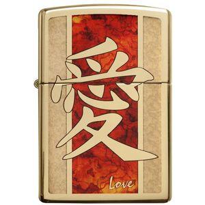 فندک زیپو مدل Chinese Love کد 28953