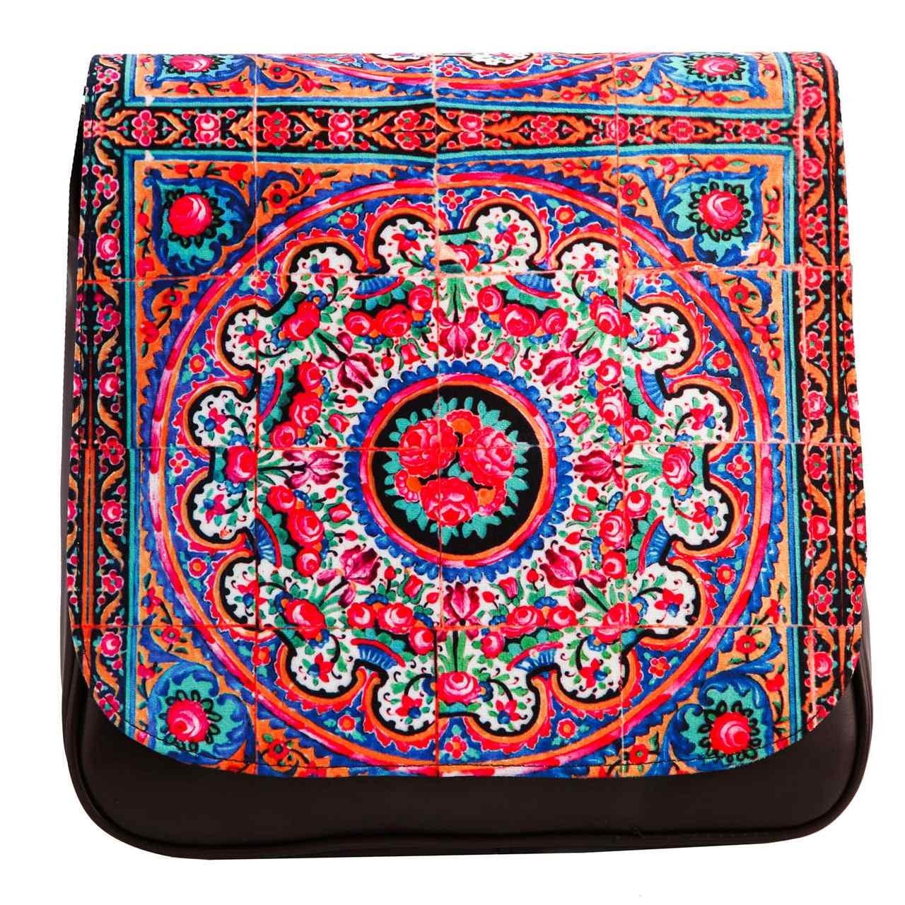 کیف دوشی زنانه گالری وستای مدل نصیرالملک کد 91025