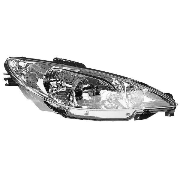 چراغ جلو راست کروز مدل 401 مناسب برای پژو 206