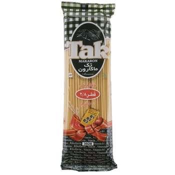ماکارونی قطر 2.8 حاوی ویتامین تک ماکارون مقدار 500 گرمی