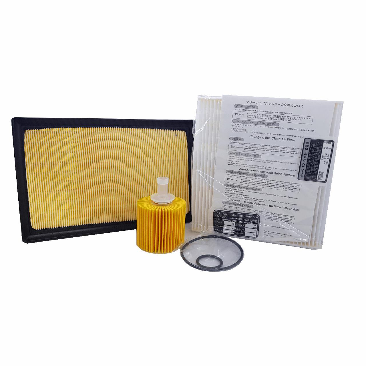 بسته فیلتر خودرو اطلس میکال مدل 3352 مناسب برای تویوتا راو 4
