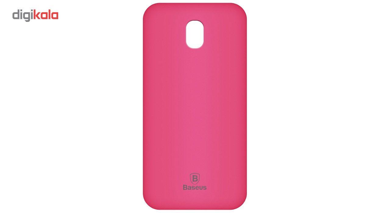 کاور ژله ای باسئوس مدل Soft Jelly مناسب برای گوشی موبایل سامسونگ Galaxy J5 Pro main 1 5