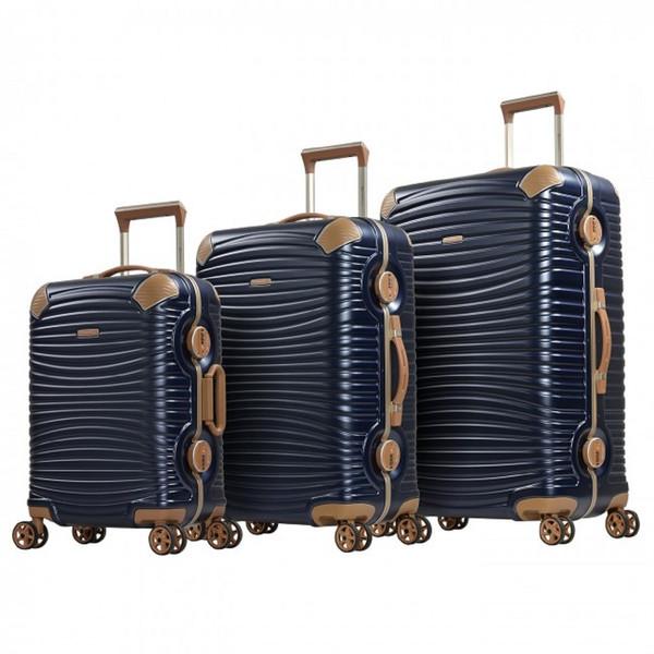 مجموعه سه عددی چمدان امیننت مدل گلد2