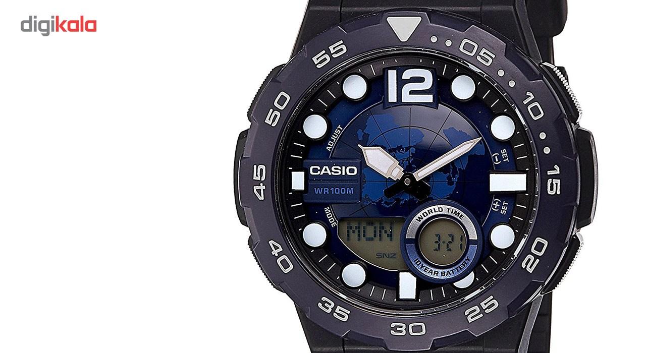 ساعت مچی عقربه ای مردانه کاسیو مدل AEQ-100W-2AVDF