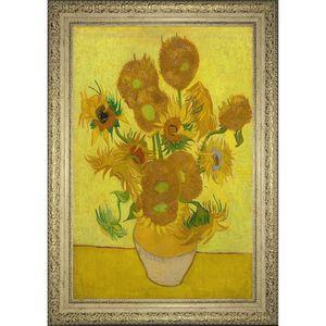 تابلو گالری هنری پیکاسو طرح گل های آفتاب گردان