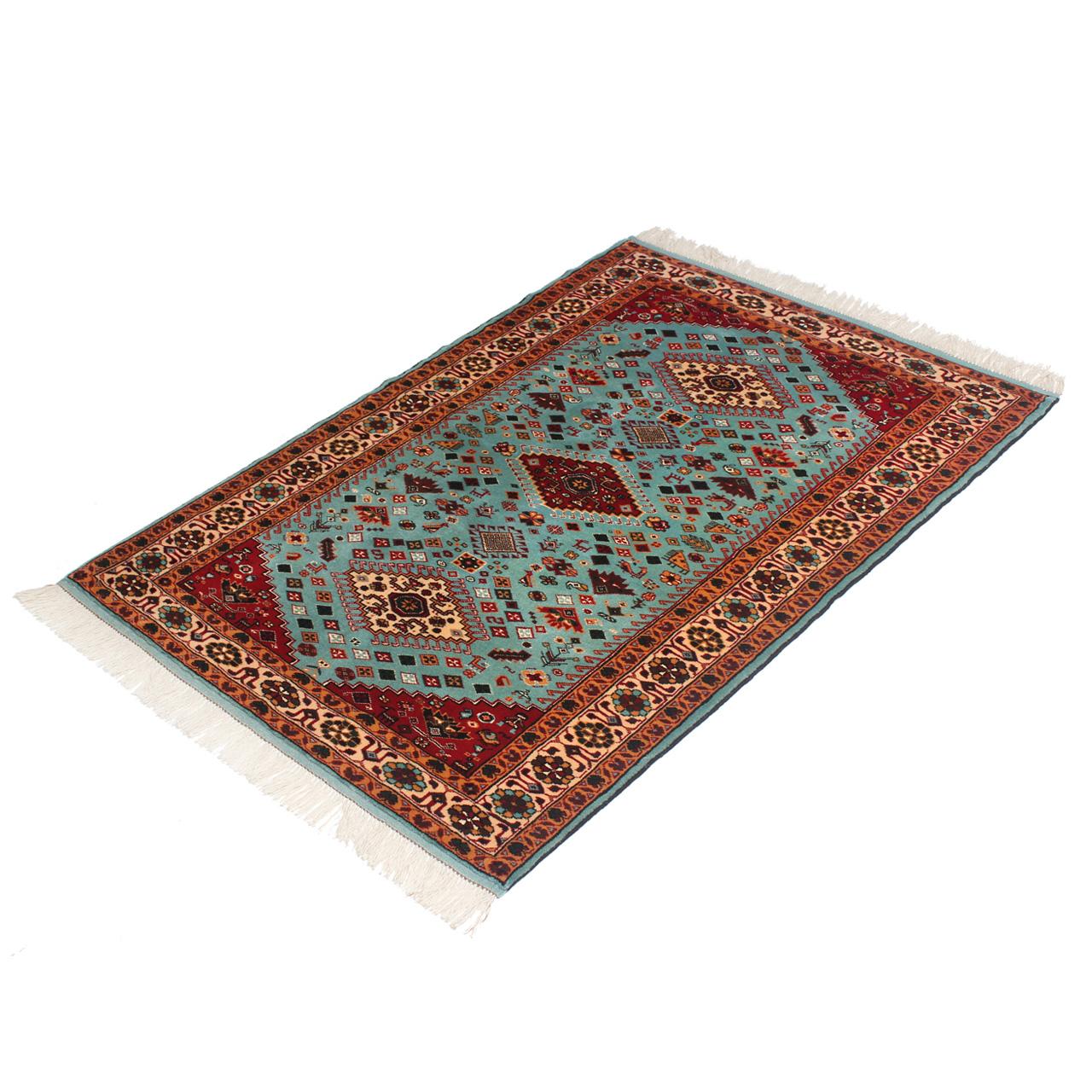 فرش دستباف ذرع و نیم کد 2244