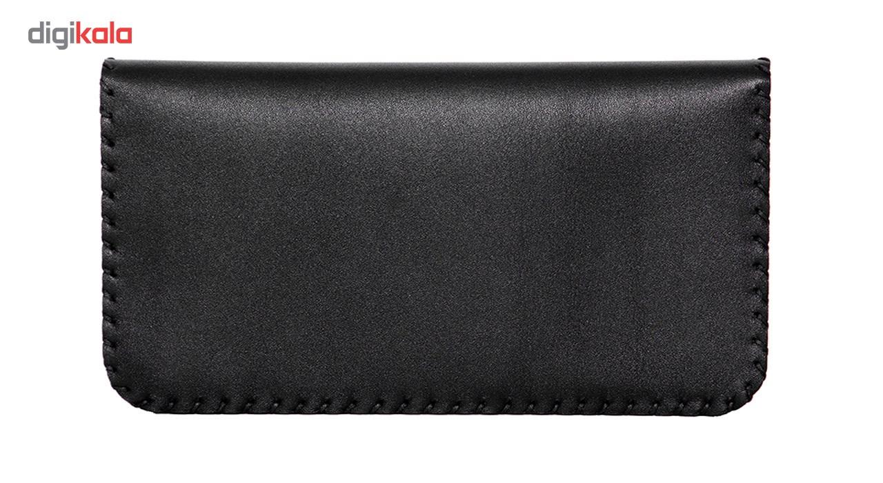 کیف پول چرم طبیعی تیکیش مدل TW02