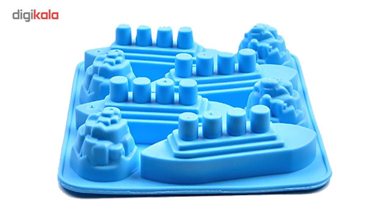 قالب یخ پرنیان هفت رنگ مدل Kt main 1 1