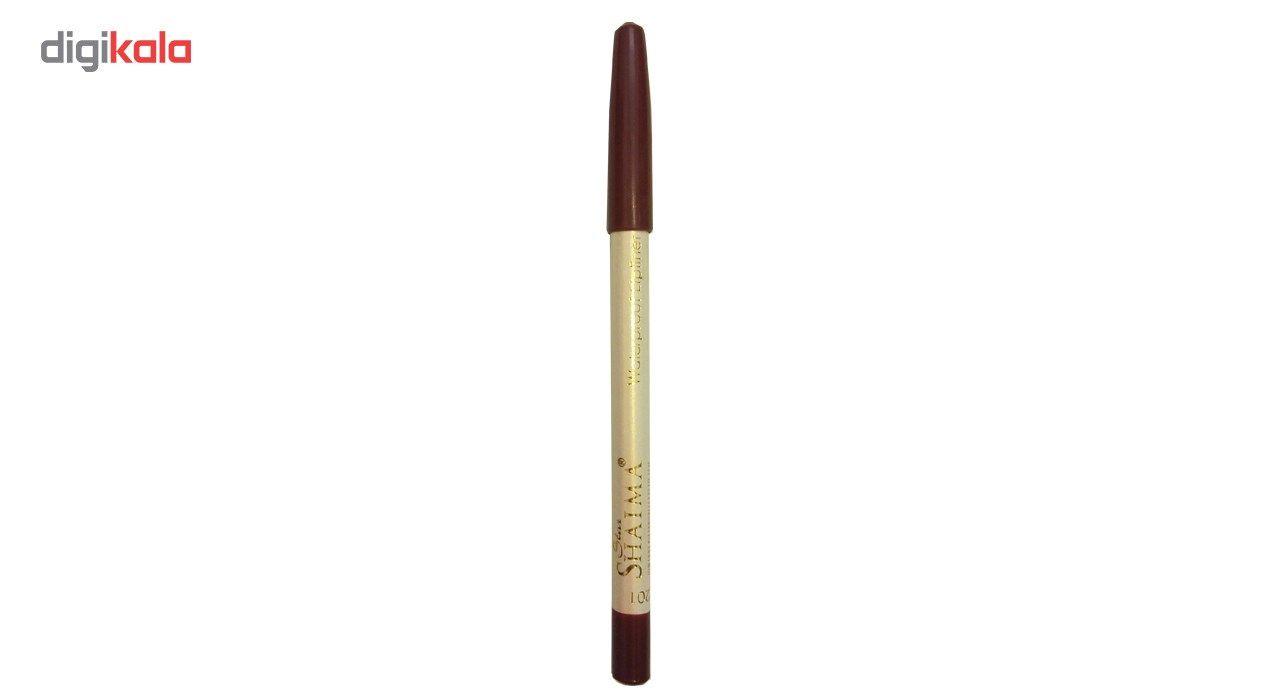 مداد لب شایما مدل Waterproof شماره 201 -  - 2