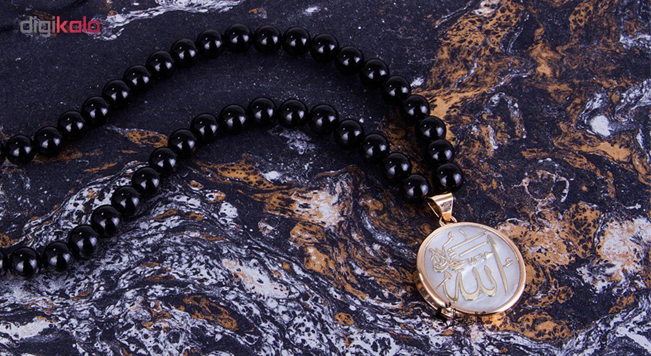 گردنبند طلا 18 عیار مرجان مدل 0765