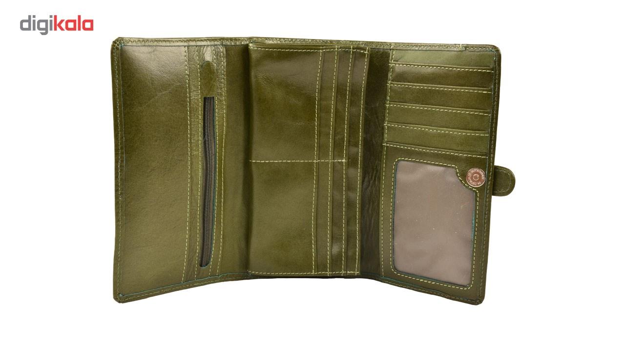 کیف پول کهن چرم مدل LW50-9