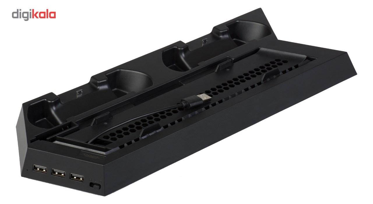 پایه شارژ دوب مدل TP4-891 مناسب برای پلی استیشن4  و پلی استیشن 4 اسلیم