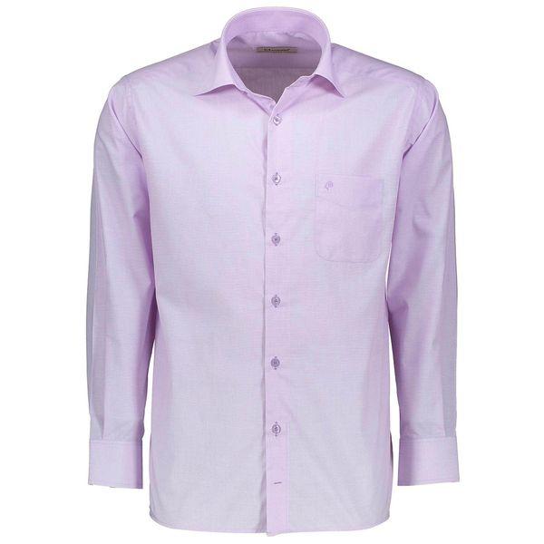 پیراهن آستین بلند مردانه اطمینان مدل آکسفورد کد 01