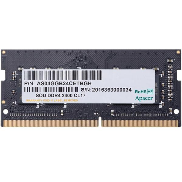 رم لپ تاپ DDR4 تک کاناله 2400 مگاهرتز اپیسر ظرفیت 8 گیگابایت