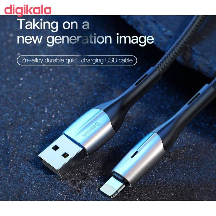 کابل تبدیل USB به لایتنینگ باسئوس مدل CALSP-C01 طول 2 متر main 1 4