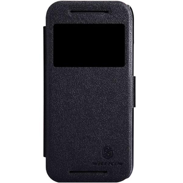 کیف کلاسوری نیلکین مدل New Leather Sparkle مناسب برای گوشی موبایل HTC One Mini 2