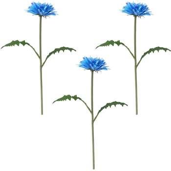 گل مصنوعی ایکیا طرح قاصدک مدل Smycka مجموعه 3 عددی