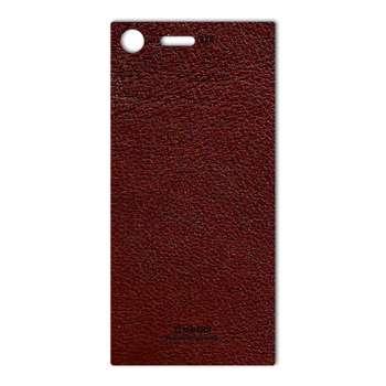 برچسب پوششی ماهوت مدلNatural Leather مناسب برای گوشی  Sony Xperia XZ Premium