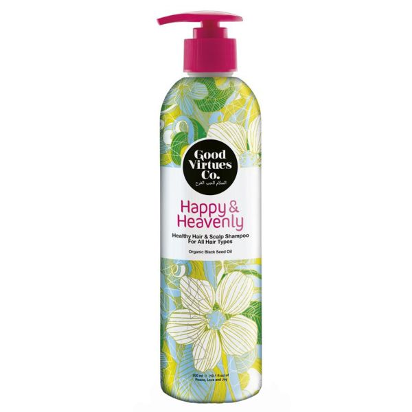 شامپو احیا کننده و ضد ریزش مو مناسب انواع مو گود ورچو مدل Healthy Hair And Scalp Shampoo حجم 300 میلی لیتر