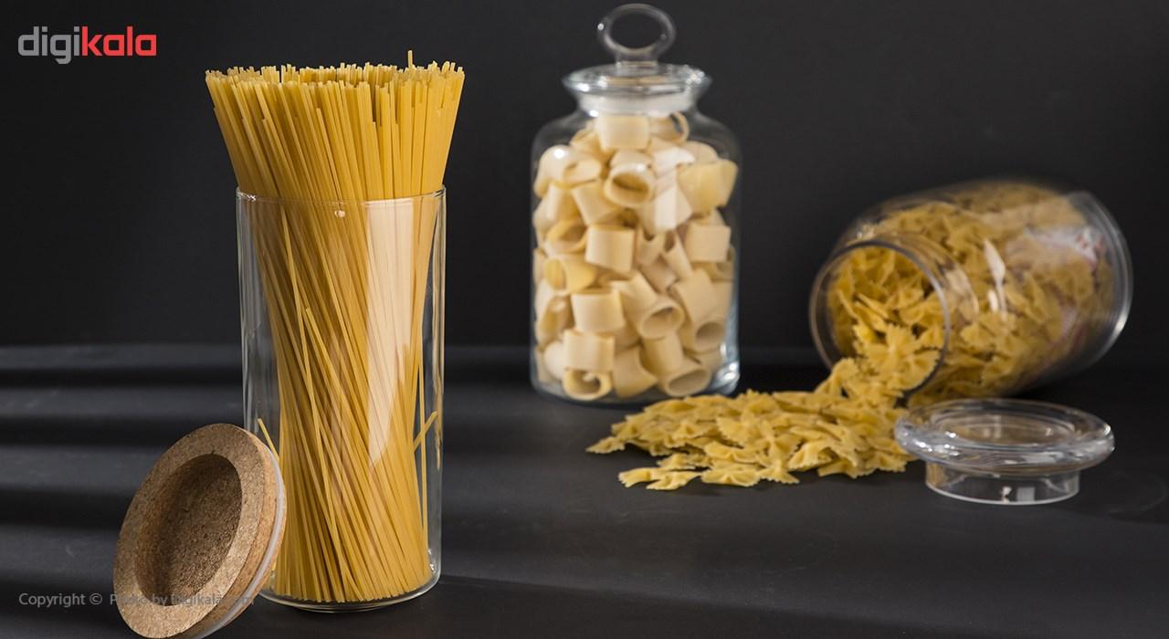 اسپاگتی قطر 1.5 تک ماکارون مقدار 500 گرمی